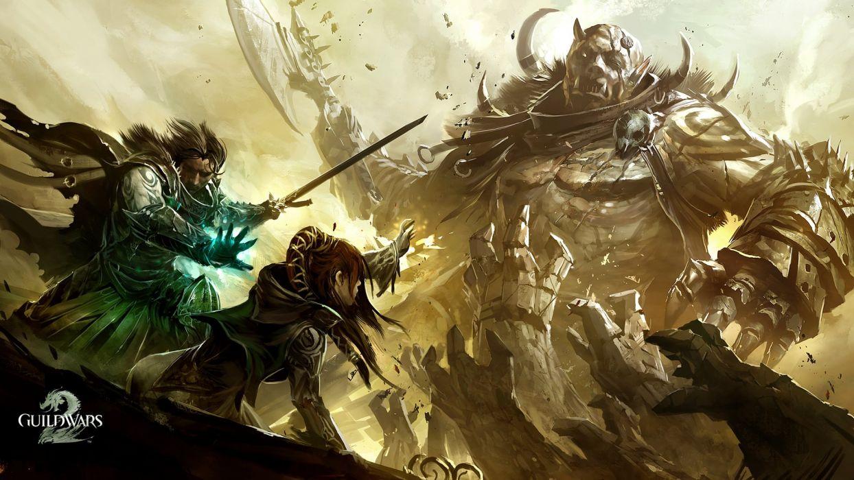 Video Games Fantasy Art Artwork Guild Wars 2 Wallpaper 1920x1080