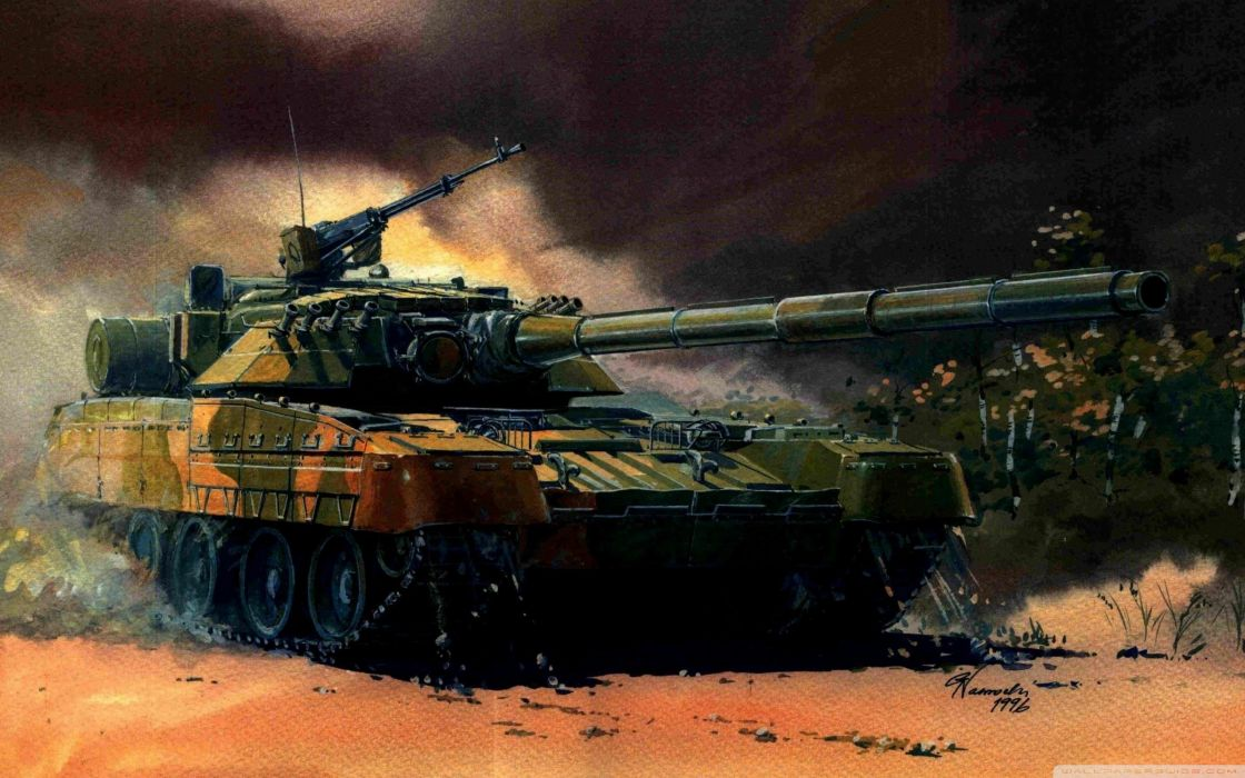 tank painting-wallpaper-2560x1600 wallpaper