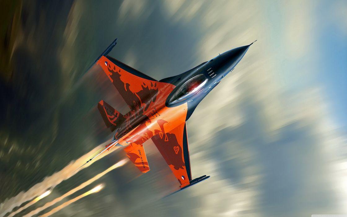 f 16 fighter-wallpaper-3840x2400 wallpaper