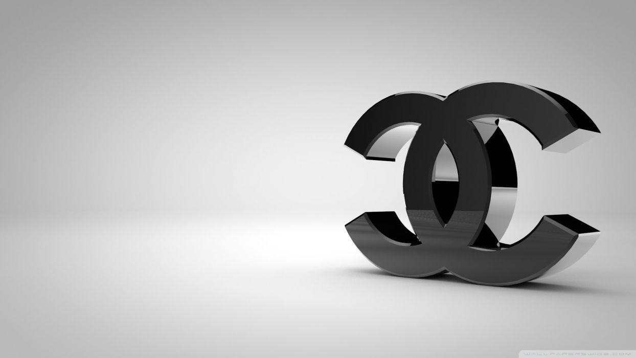 chanel logo shiny black-wallpaper-1920x1080 wallpaper