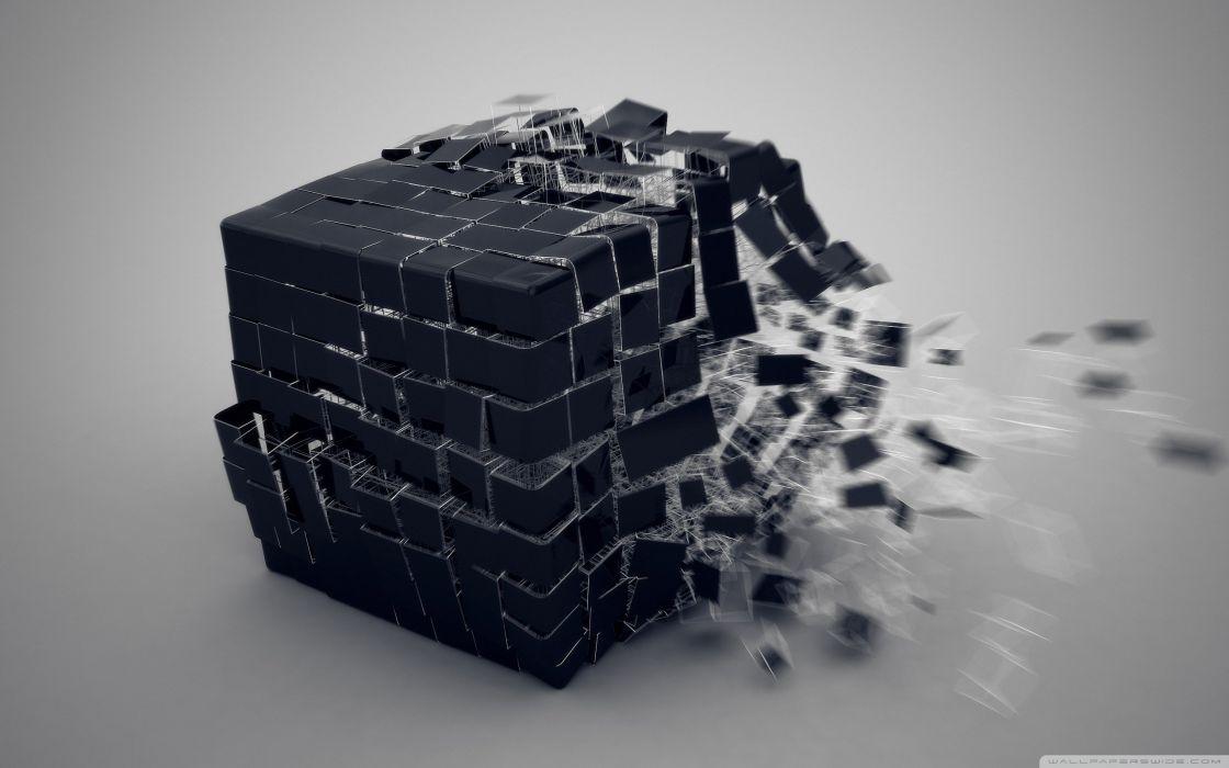 exploding cube-wallpaper-2560x1600 wallpaper