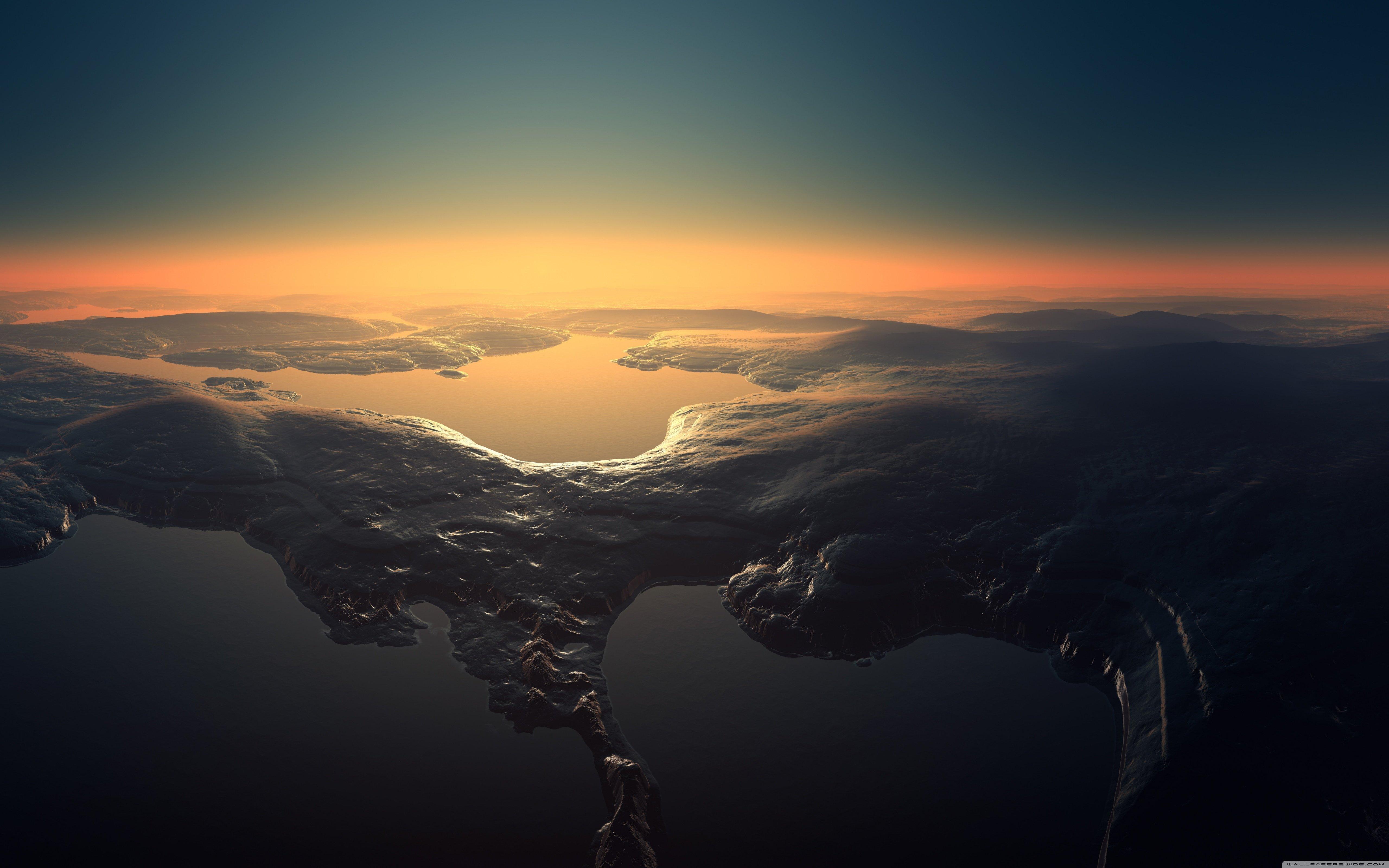 Aerial View-wallpaper-5120x3200 Wallpaper