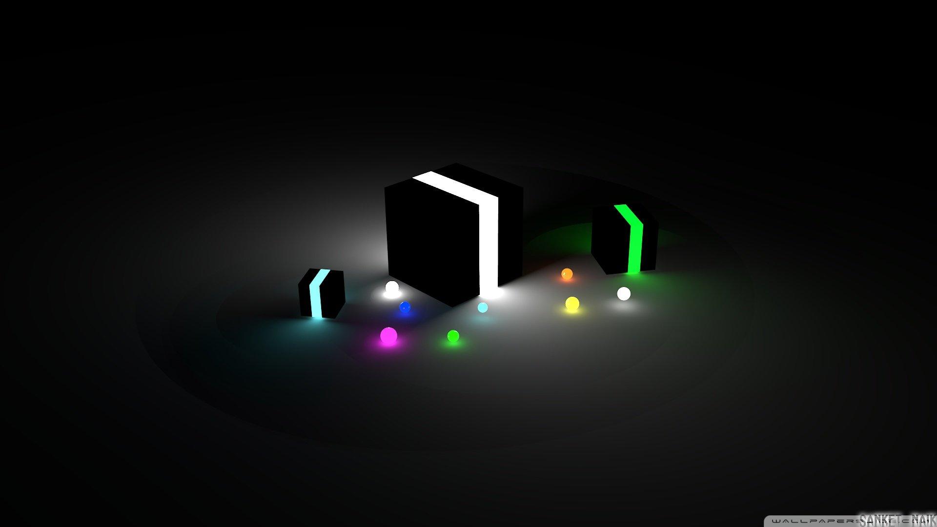 Glow cubes-wallpaper-1920x1080 wallpaper | 1920x1080 ...