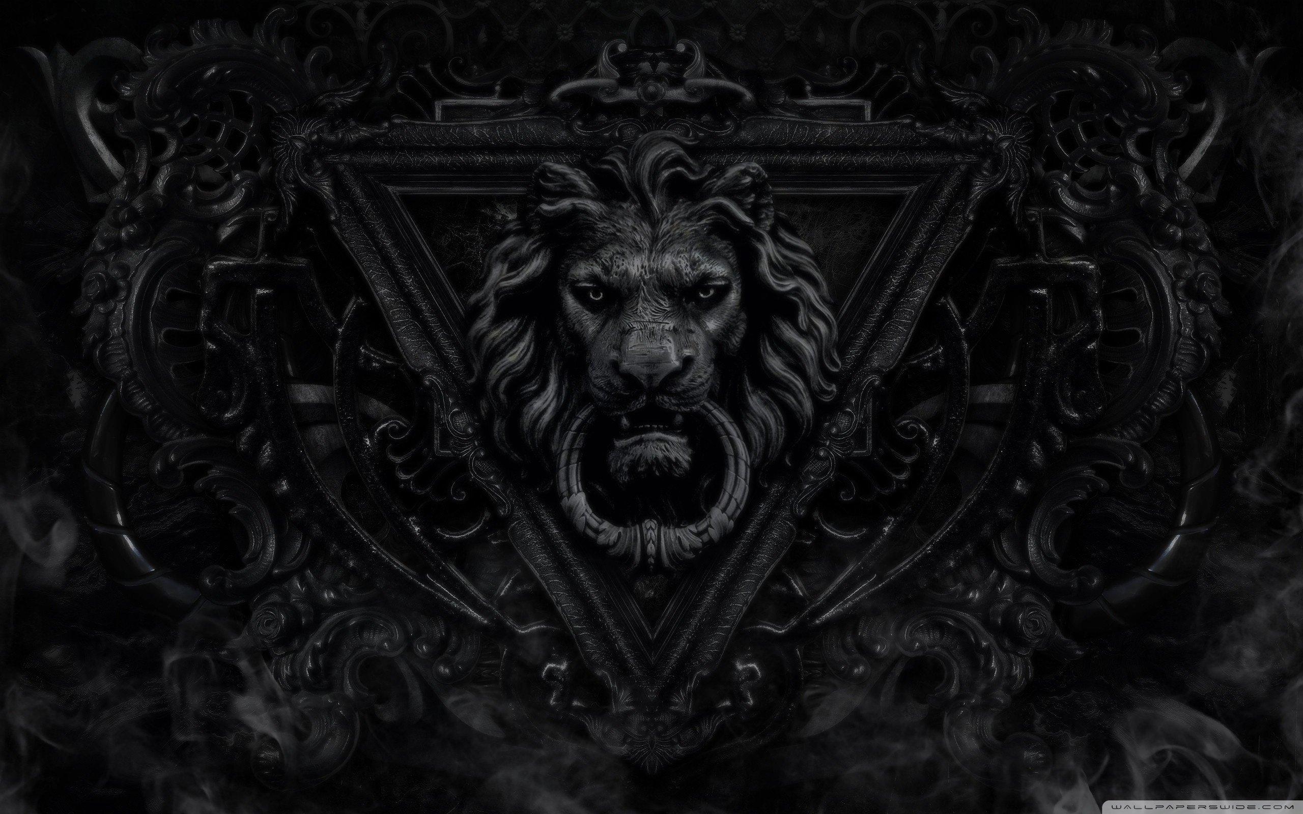 Dark Gothic Lion-wallpaper-2560x1600 Wallpaper