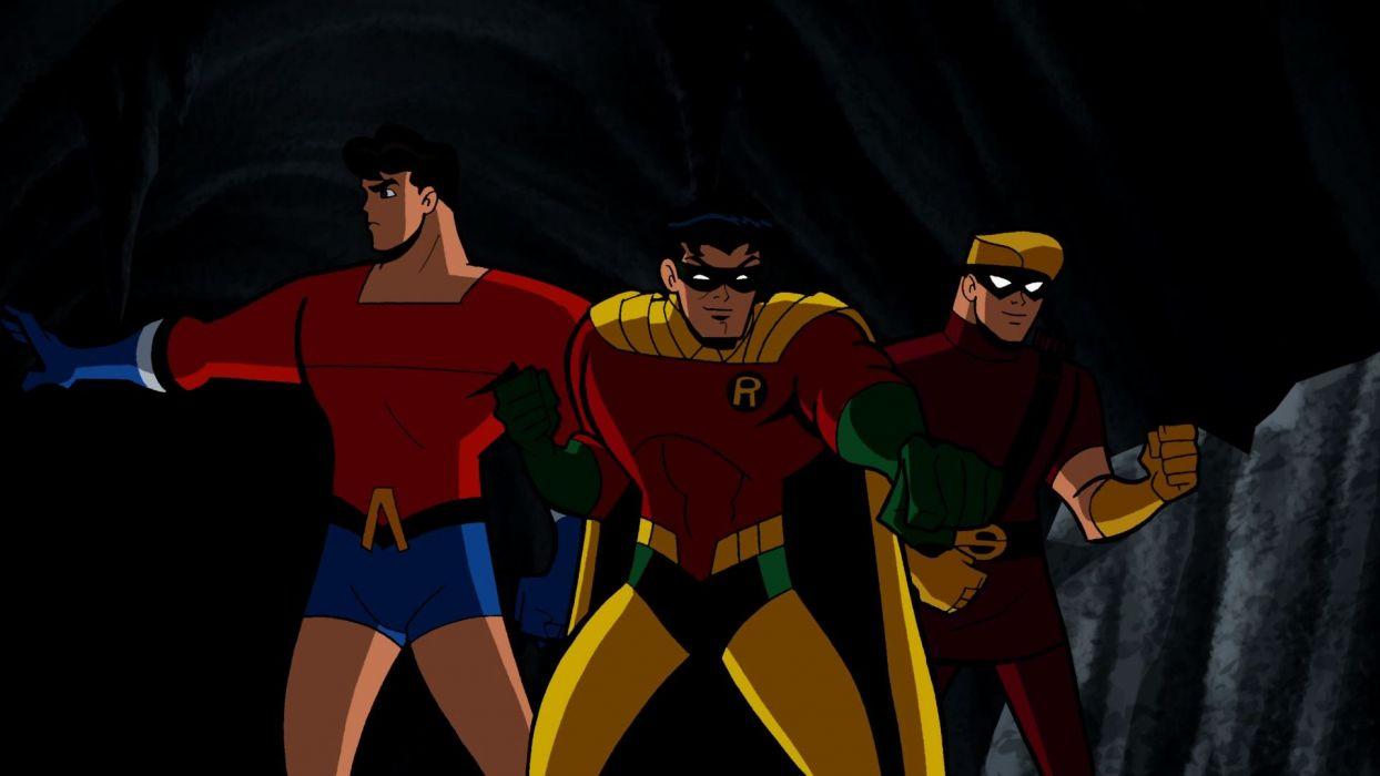 BATMAN BRAVE AND THE BOLD cartoon superhero animation action adventure d-c dc-comics dark knight (2) wallpaper