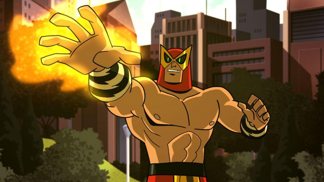 BATMAN BRAVE AND THE BOLD cartoon superhero animation action adventure d-c dc-comics dark knight (12) wallpaper