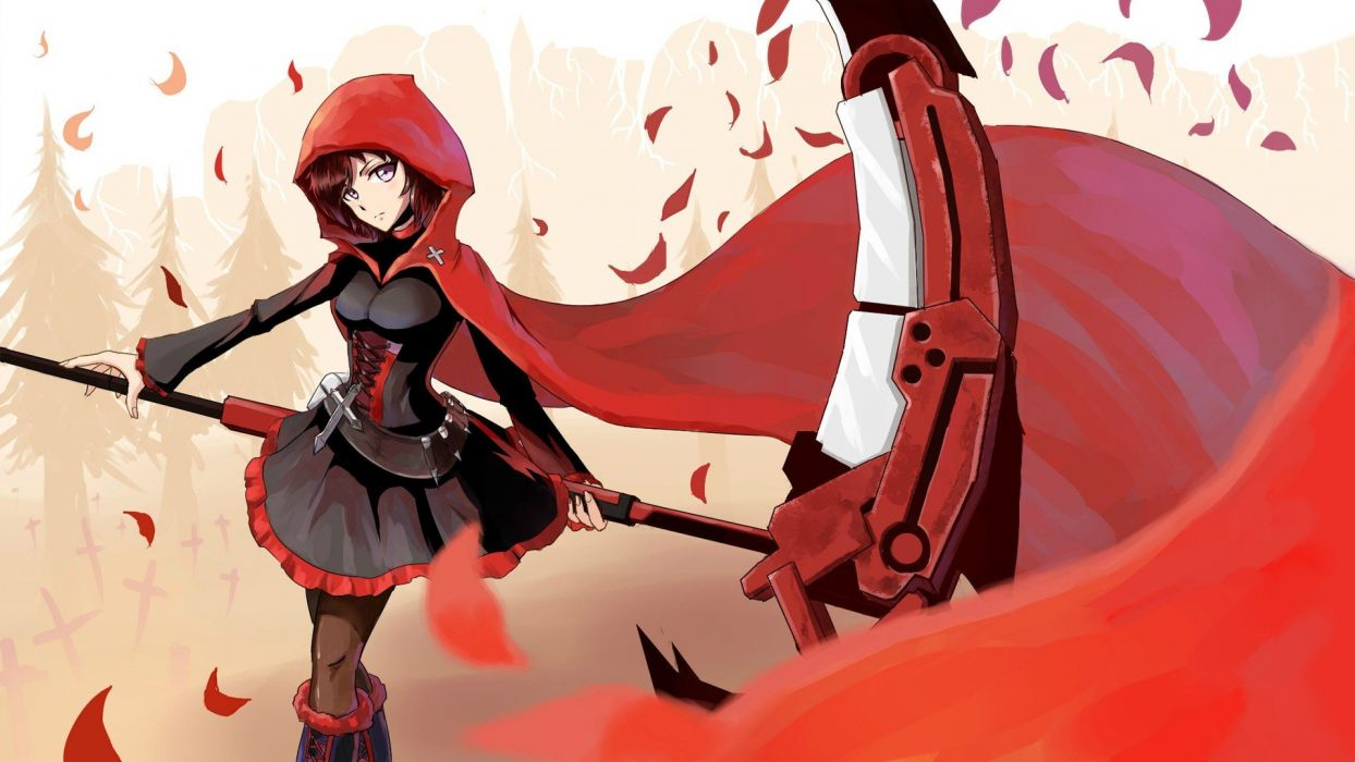 Scythe artwork red hood wallpaper 1920x1080 238580 - Hood cartoon wallpaper ...