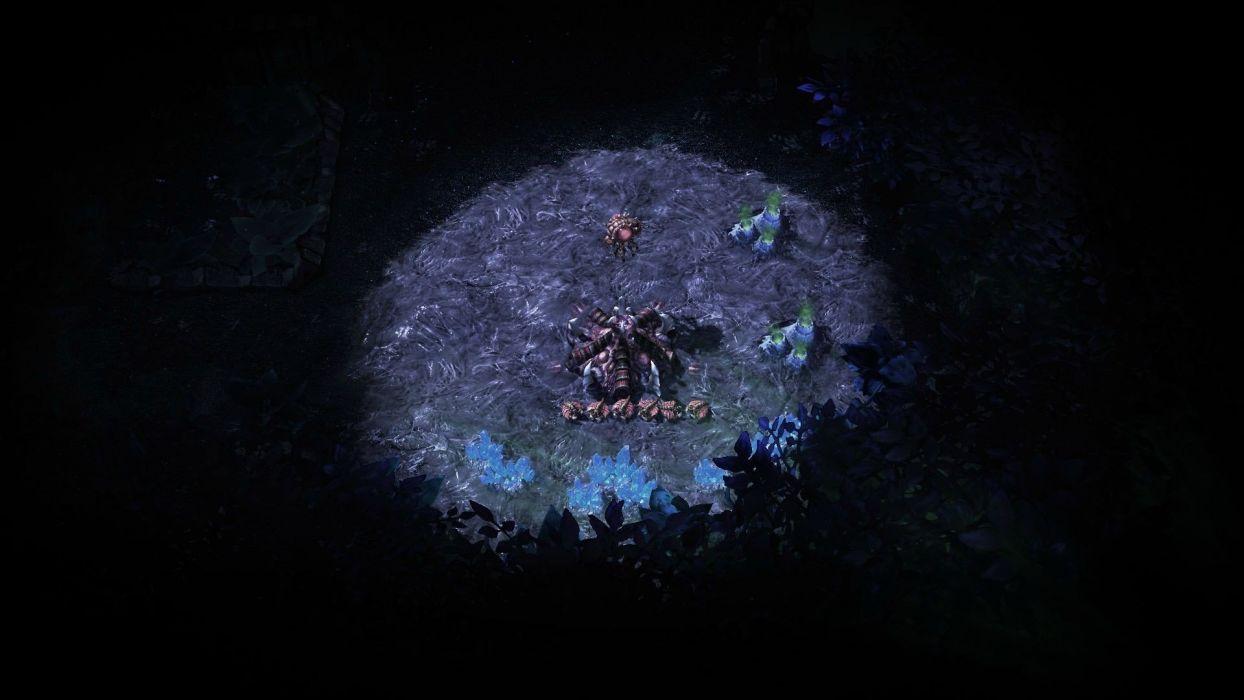 video games Zerg StarCraft II wallpaper