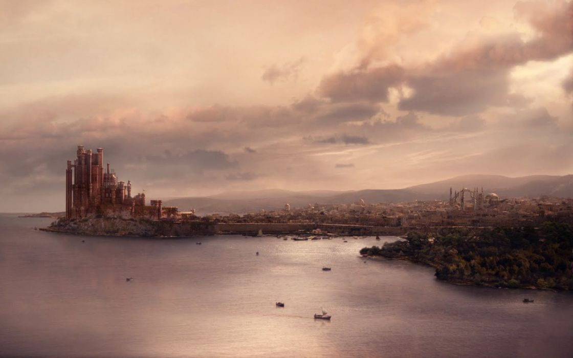 Game of Thrones TV series King's Landing wallpaper