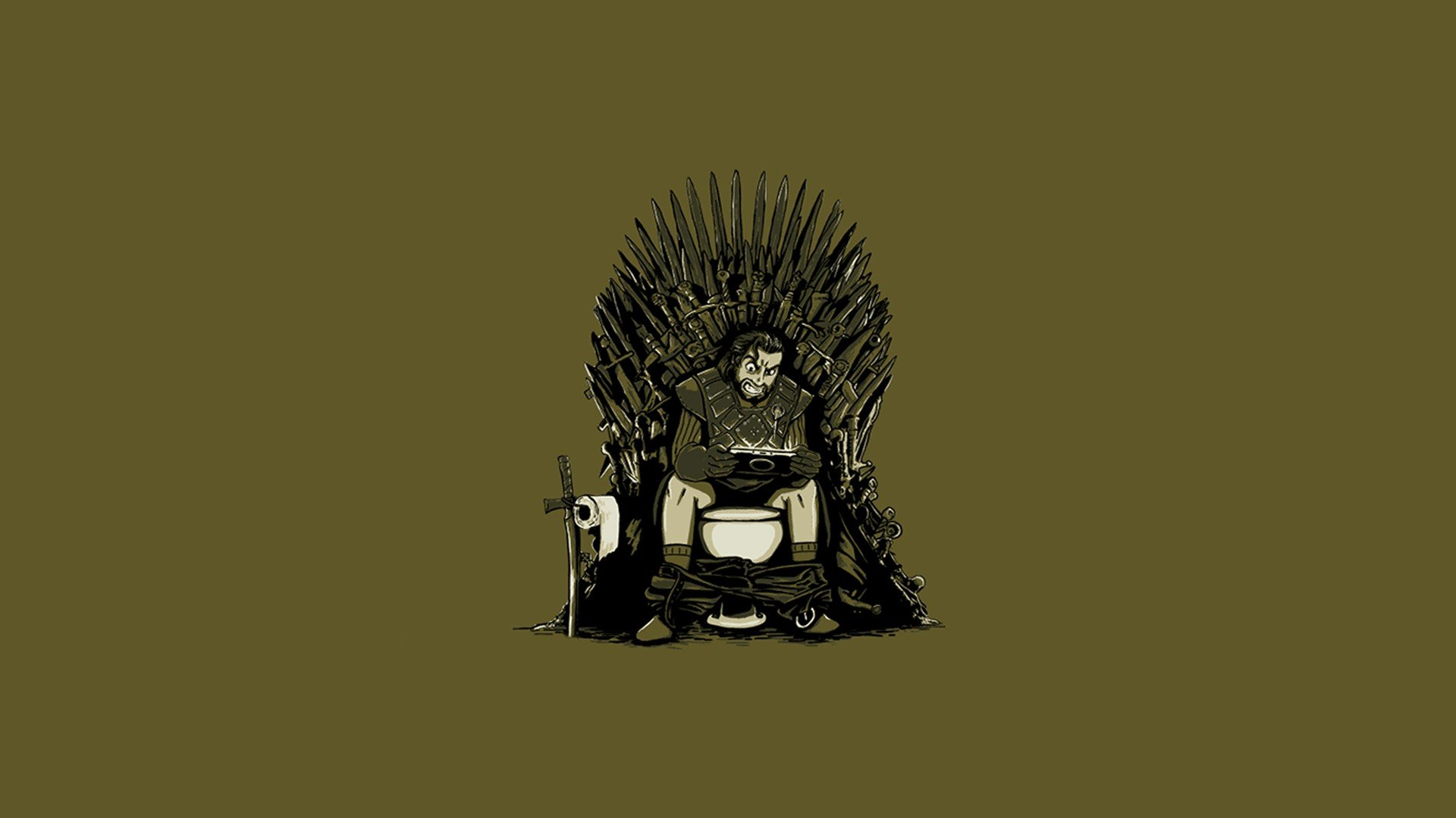 Minimalistic Funny Artwork Game Of Thrones Simple Background