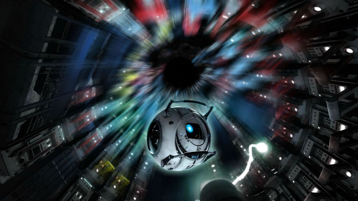 Portal Portal 2 Wheatley Stephen Merchant wallpaper