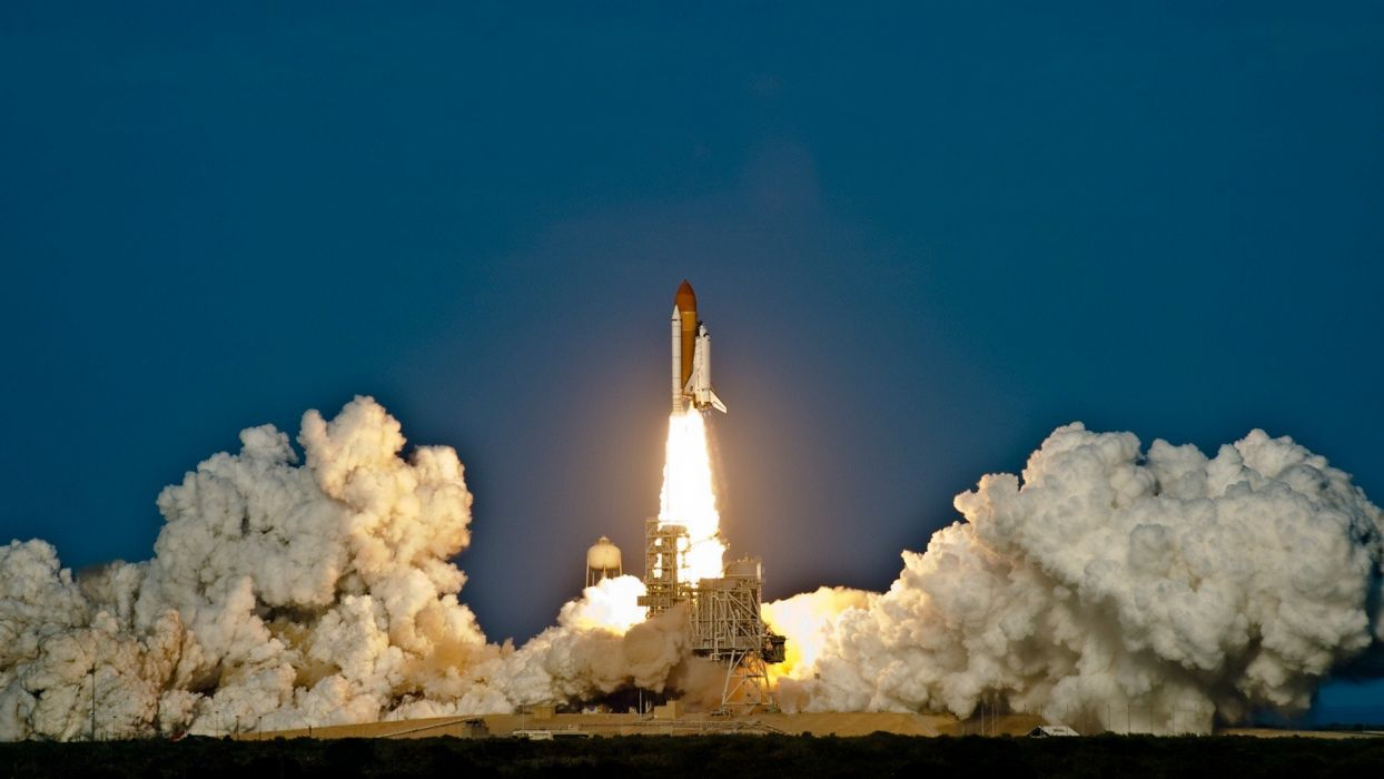 Space Shuttle Space Shuttle Discovery launch wallpaper