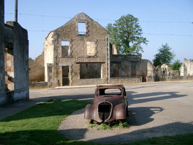 ruins buildings wallpaper