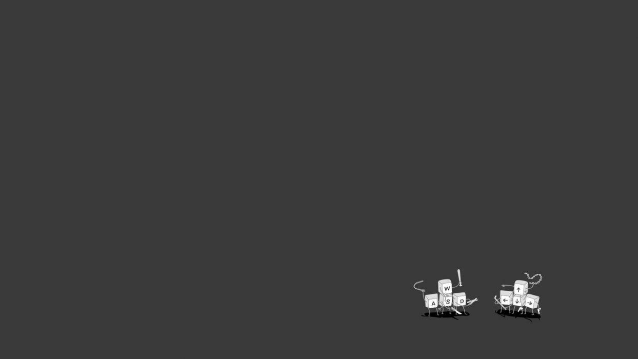 minimalistic computers funny simplistic simple wallpaper