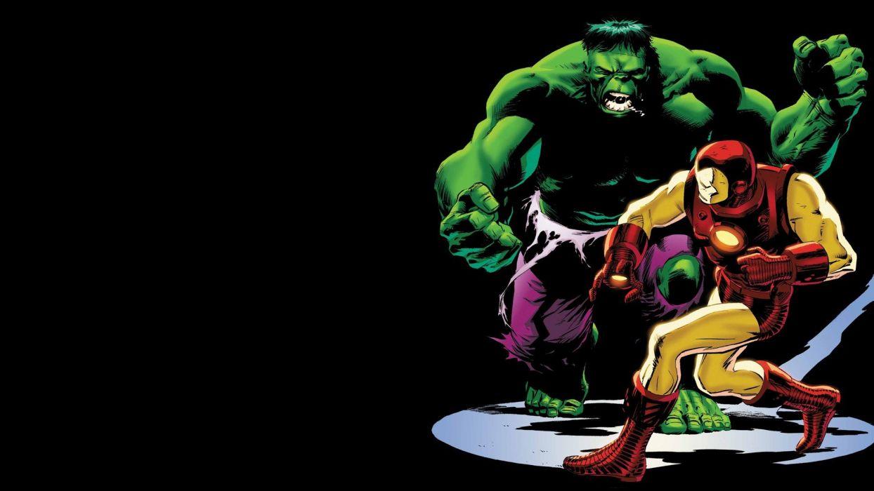 Hulk (comic character) Iron Man comics wallpaper