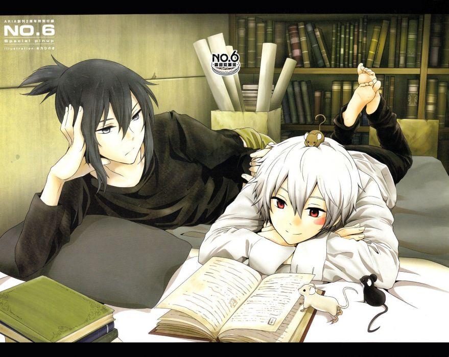 Books Anime Anime Boys Shion Nezumi No 6 Wallpaper