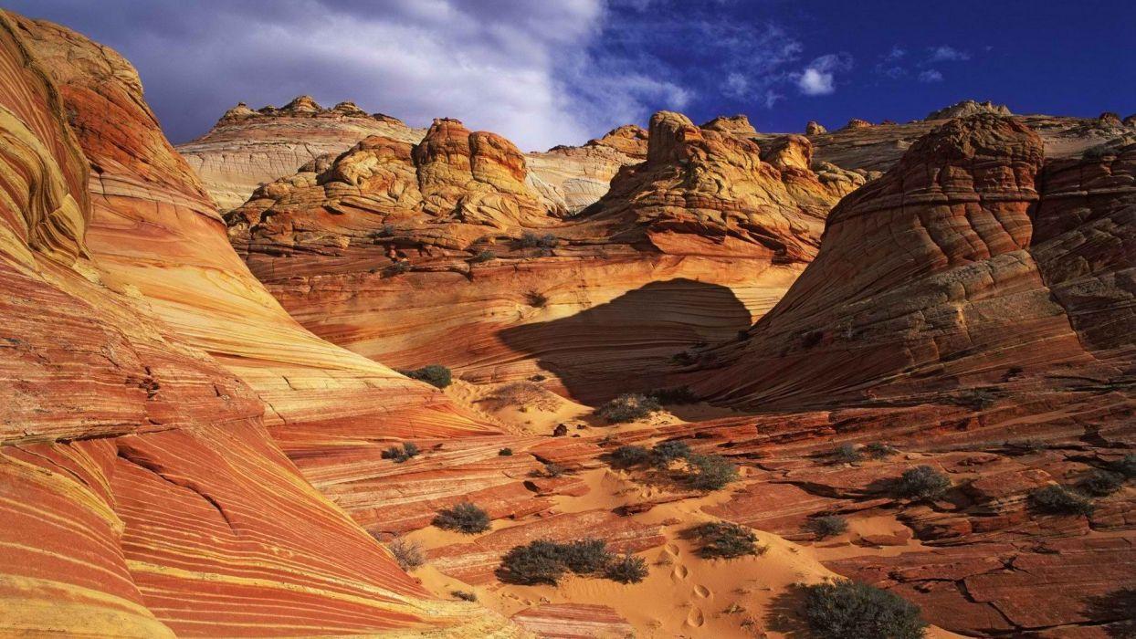 canyon Arizona Antelope Canyon rock formations wallpaper