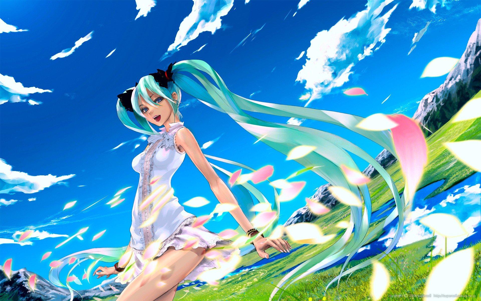 anime landscape hatsune miku - photo #31