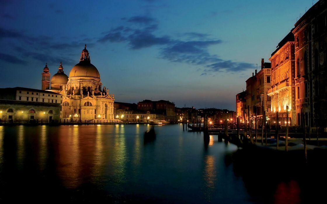 architecture Venice rivers wallpaper
