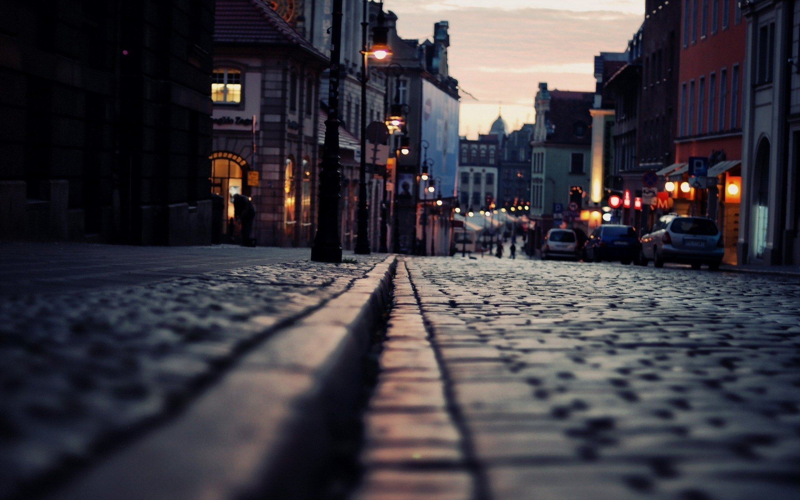 Urban Poznan cities streetscape wallpaper | 2560x1600 ...