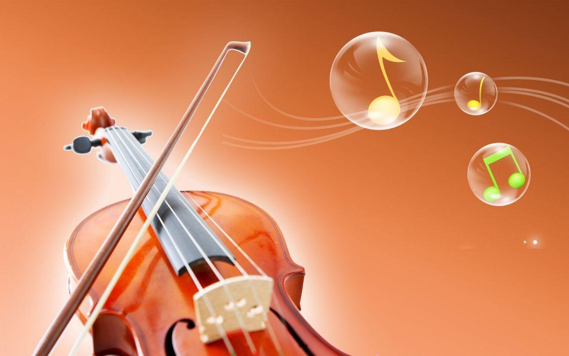 music violins vector art wallpaper