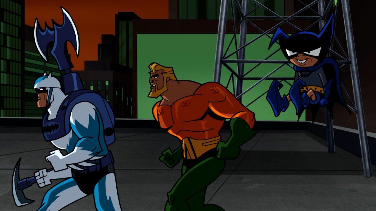 BATMAN BRAVE AND THE BOLD cartoon superhero animation action adventure d-c dc-comics dark knight (26) wallpaper