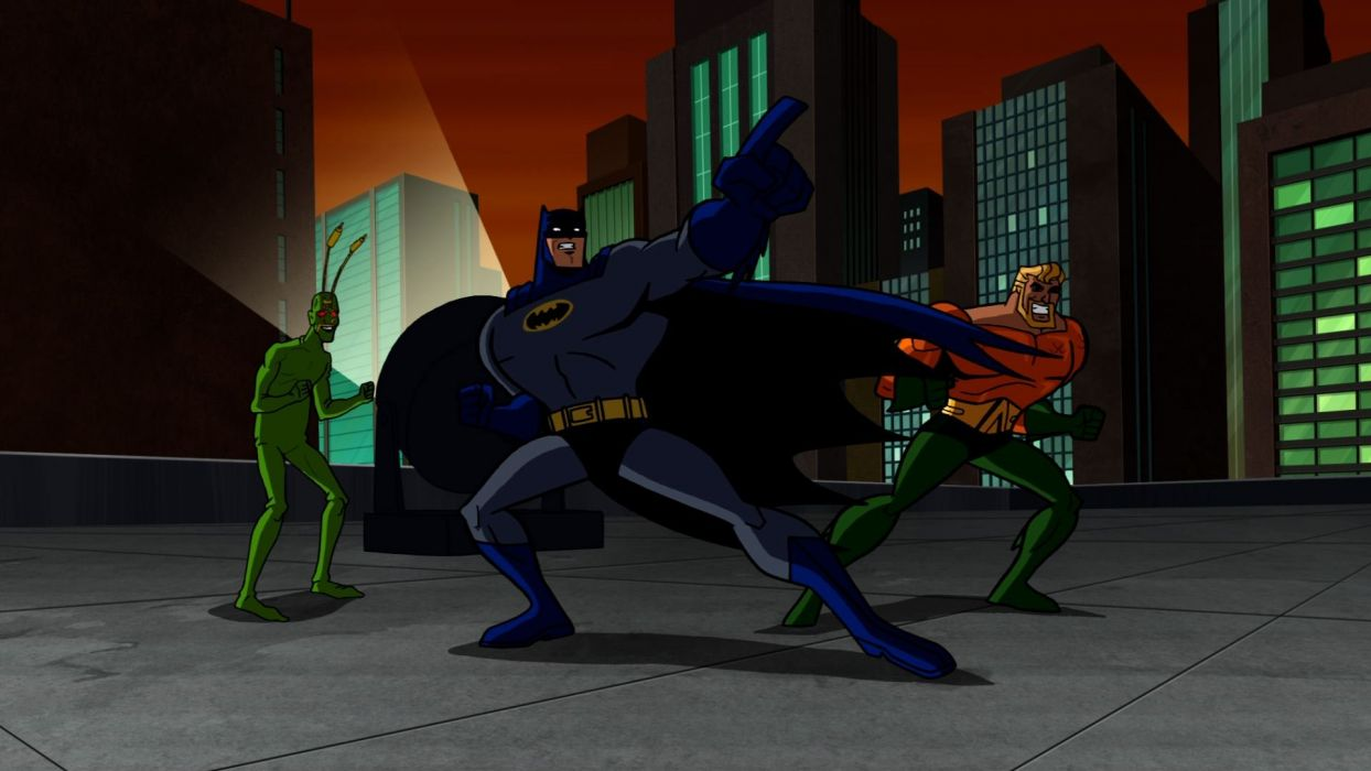 BATMAN BRAVE AND THE BOLD cartoon superhero animation action adventure d-c dc-comics dark knight (28) wallpaper