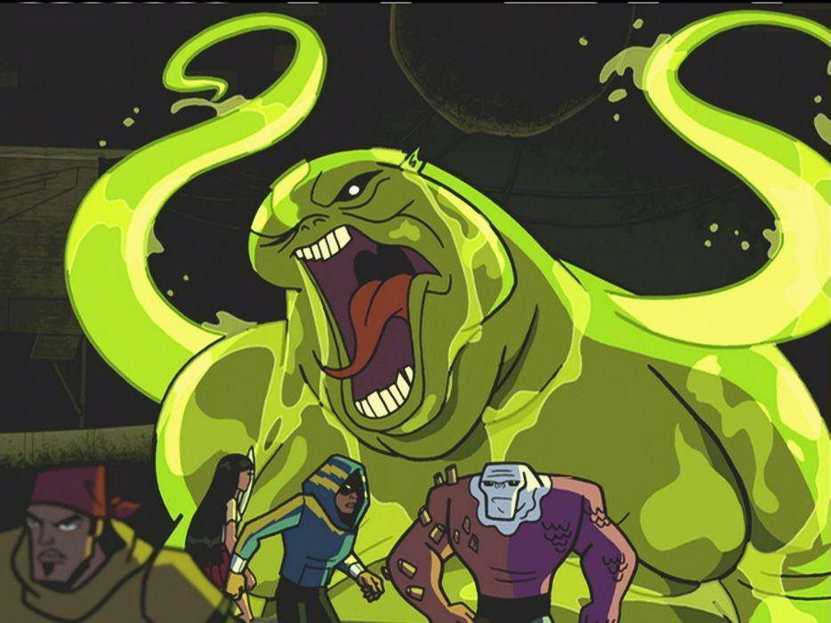 BATMAN BRAVE AND THE BOLD cartoon superhero animation action adventure d-c dc-comics dark knight (60) wallpaper