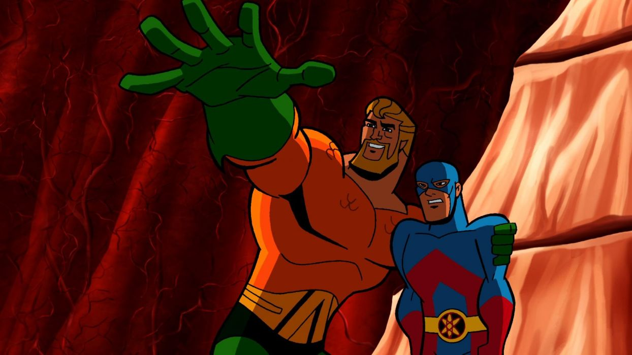 BATMAN BRAVE AND THE BOLD cartoon superhero animation action adventure d-c dc-comics dark knight (90) wallpaper