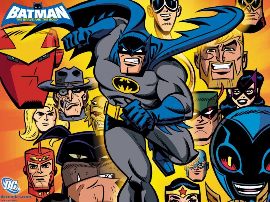BATMAN BRAVE AND THE BOLD cartoon superhero animation action adventure d-c dc-comics dark knight (118) wallpaper