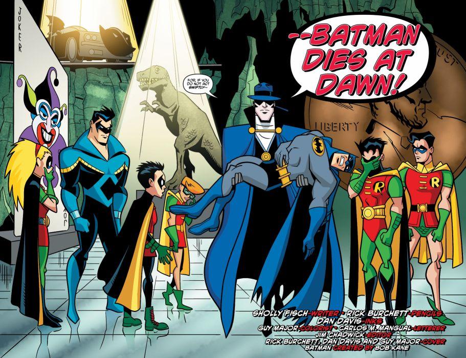 BATMAN BRAVE AND THE BOLD cartoon superhero animation action adventure d-c dc-comics dark knight (158) wallpaper