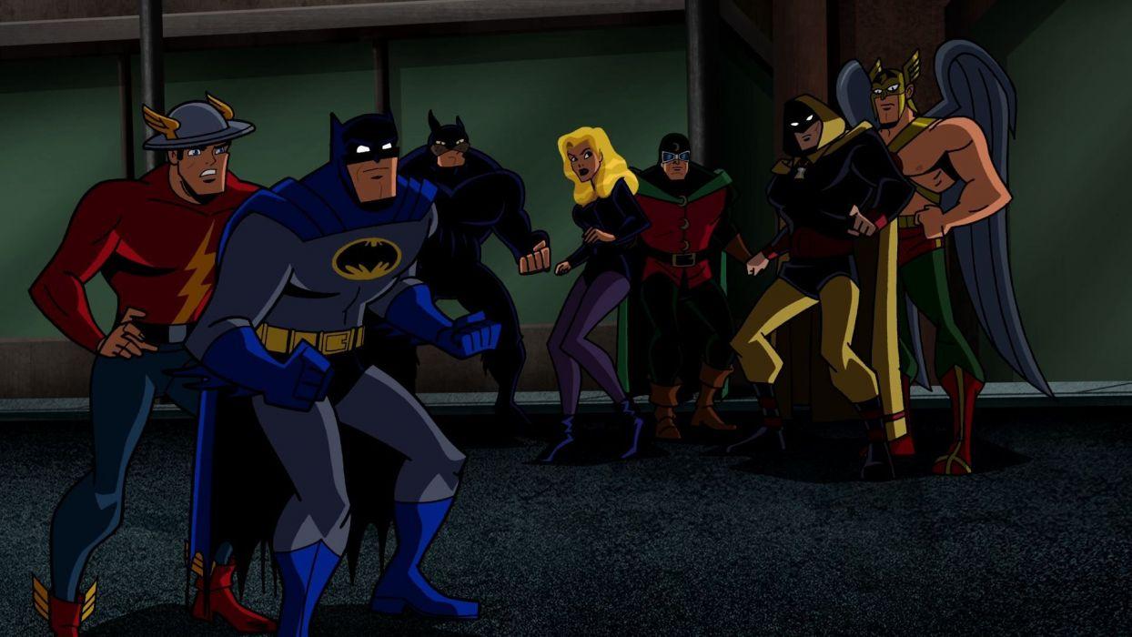 BATMAN BRAVE AND THE BOLD cartoon superhero animation action adventure d-c dc-comics dark knight (164) wallpaper