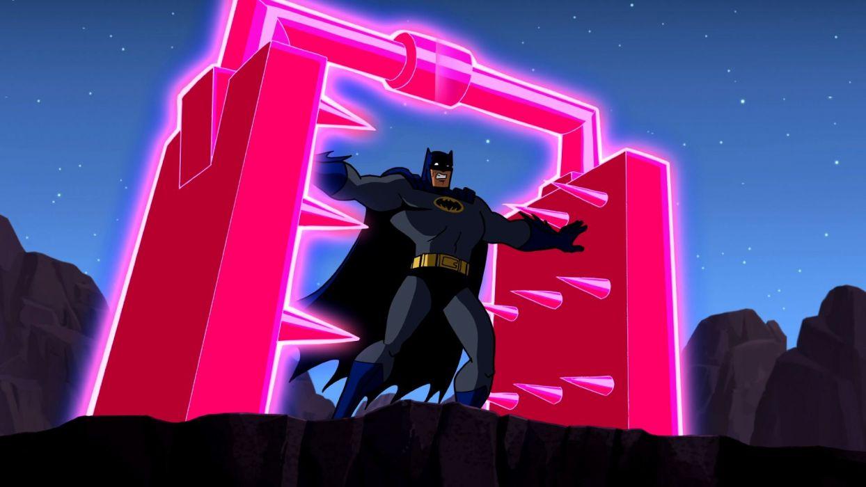 BATMAN BRAVE AND THE BOLD cartoon superhero animation action adventure d-c dc-comics dark knight (169) wallpaper