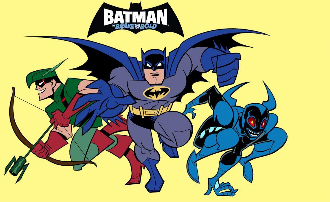 BATMAN BRAVE AND THE BOLD cartoon superhero animation action adventure d-c dc-comics dark knight (185) wallpaper