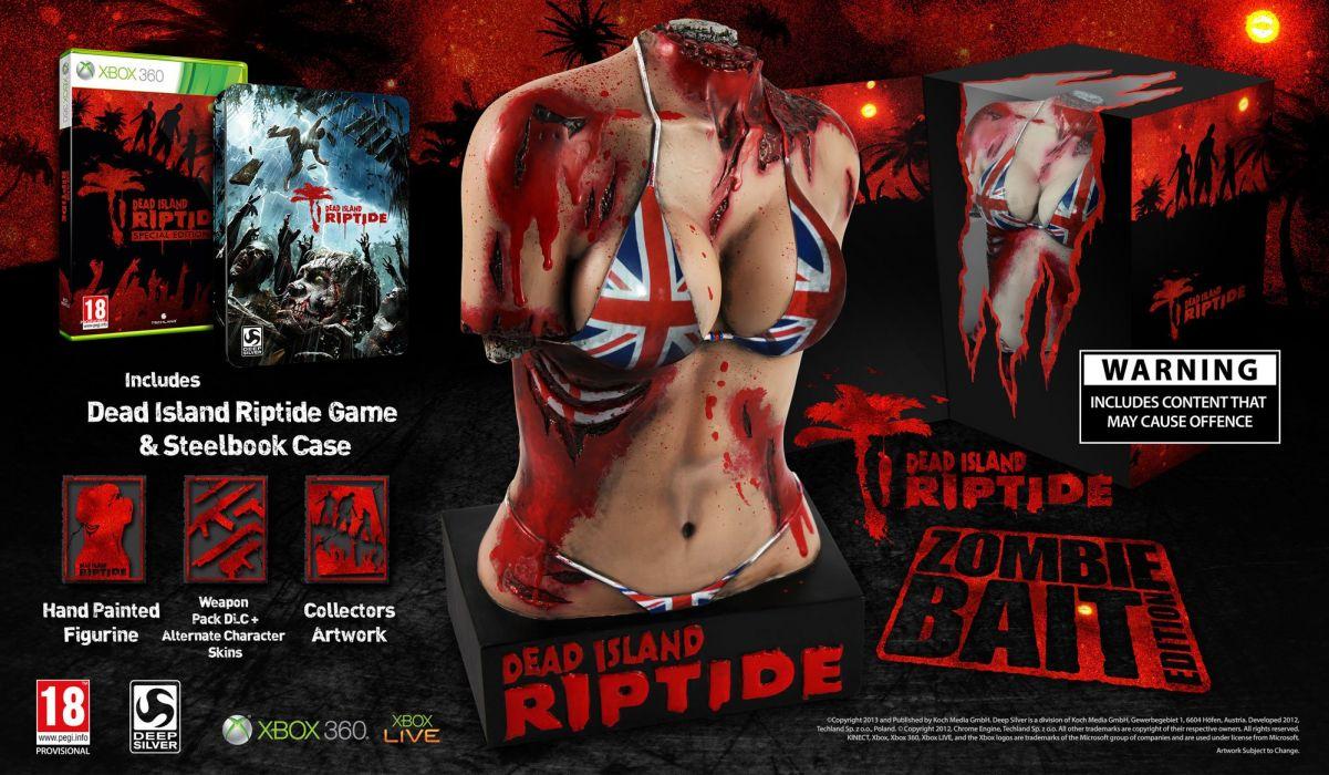 DEAD ISLAND action dark horror (33) wallpaper