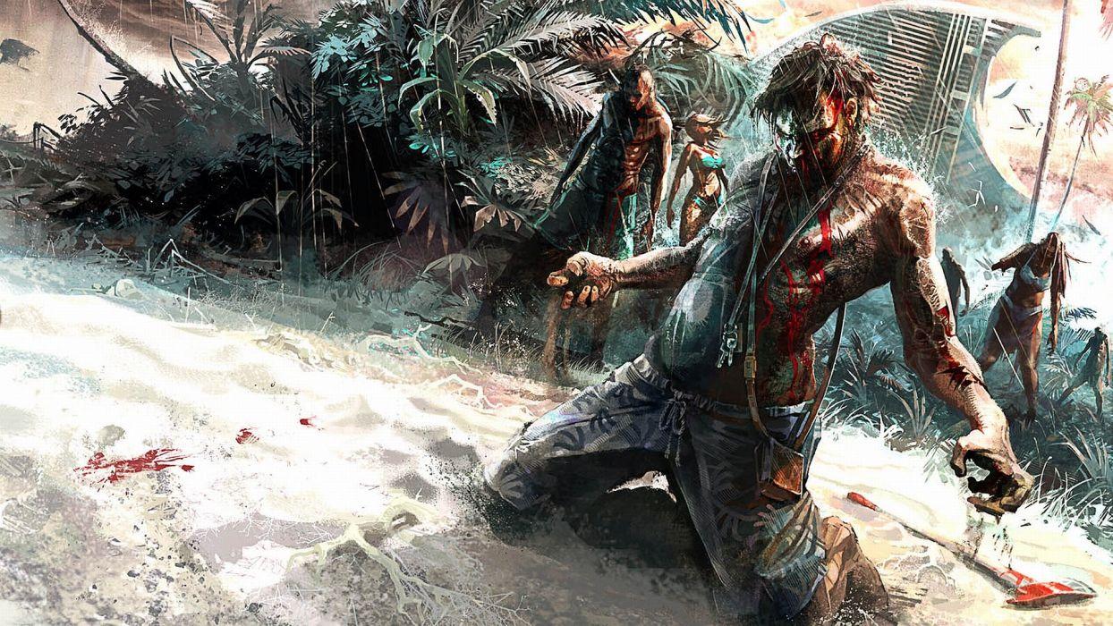 DEAD ISLAND action dark horror (42) wallpaper