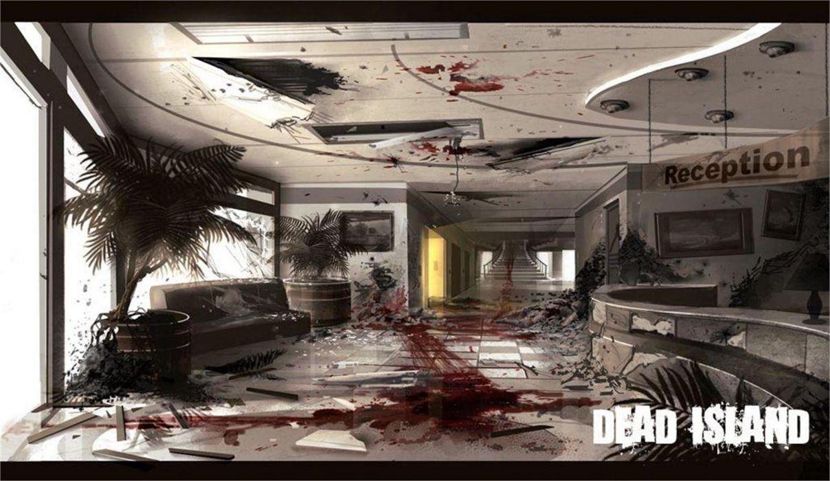 DEAD ISLAND action dark horror (43) wallpaper