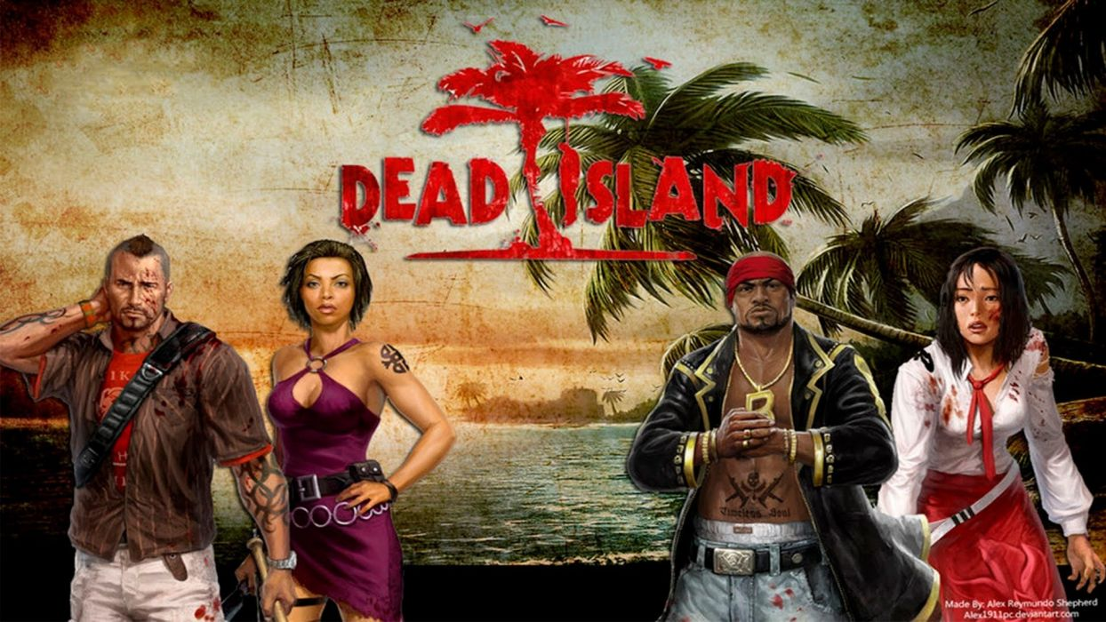 DEAD ISLAND action dark horror (49) wallpaper