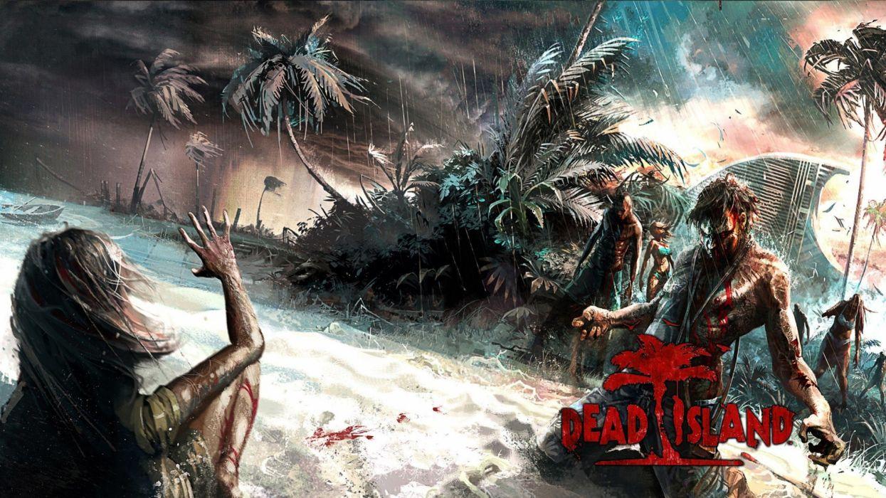 DEAD ISLAND action dark horror (51) wallpaper