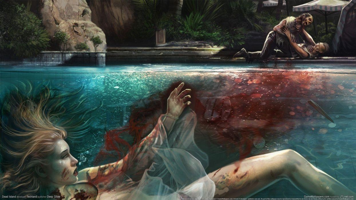 DEAD ISLAND action dark horror (54) wallpaper