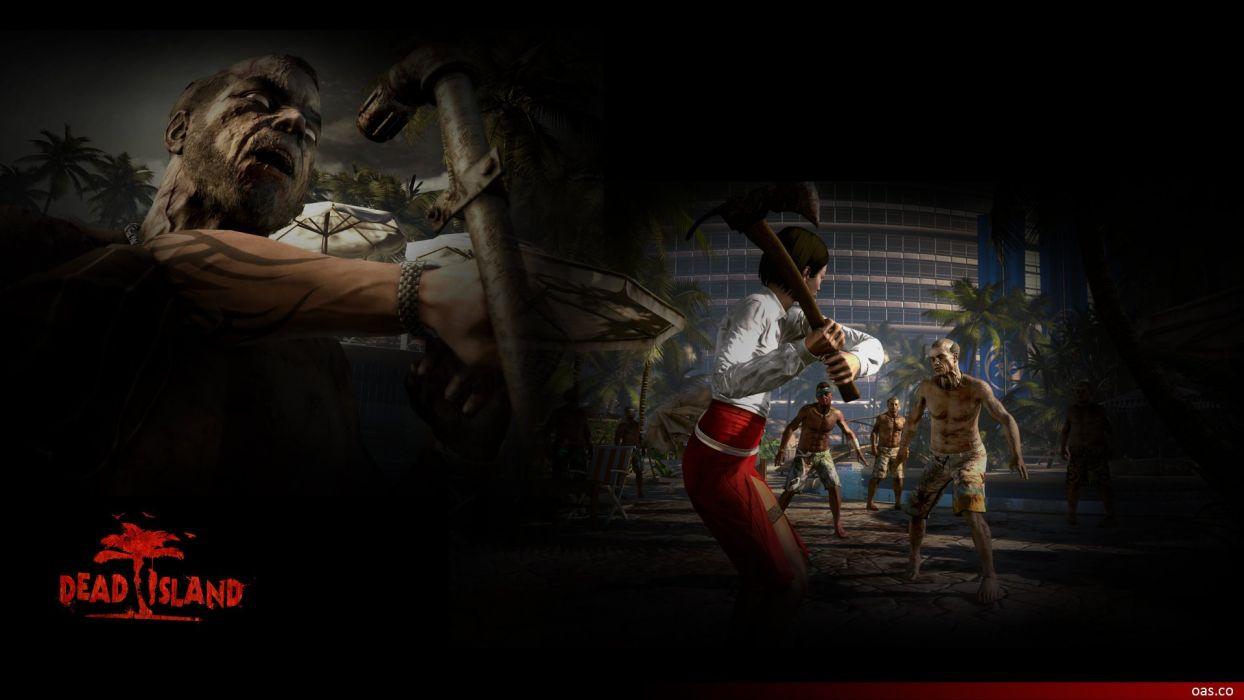 DEAD ISLAND action dark horror (70) wallpaper