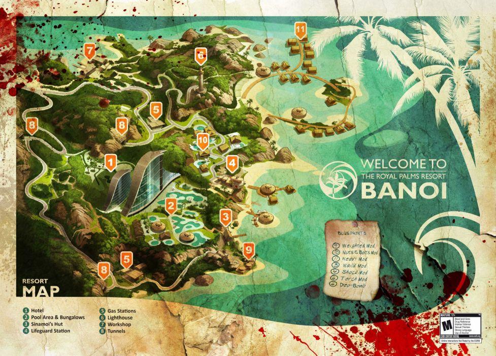 DEAD ISLAND action dark horror (71) wallpaper