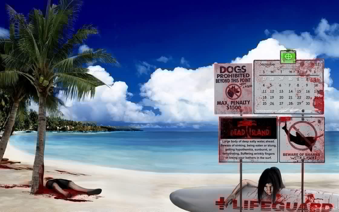 DEAD ISLAND action dark horror (78) wallpaper