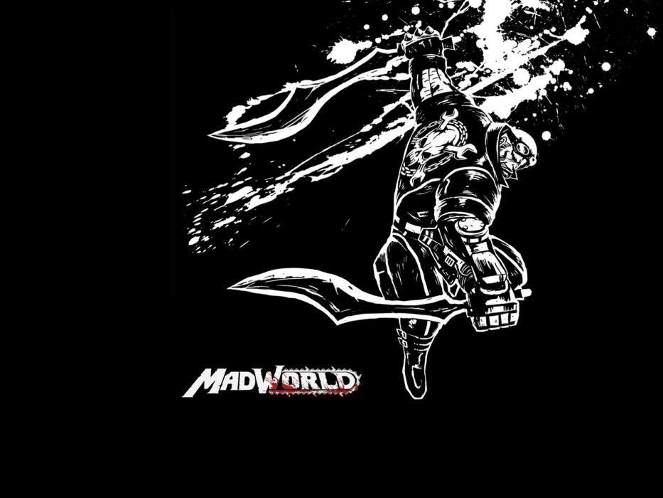 MADWORLD sega action sandbox dark warrior (1) wallpaper