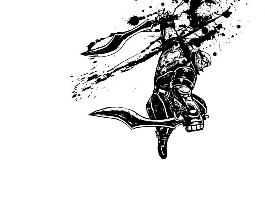 MADWORLD sega action sandbox dark warrior (2) wallpaper
