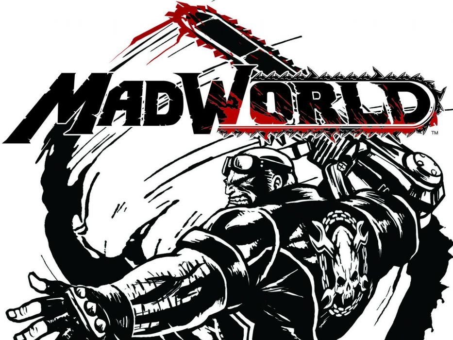 MADWORLD sega action sandbox dark warrior (3) wallpaper