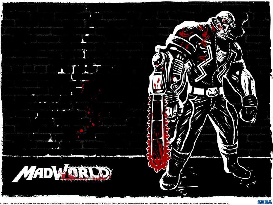 MADWORLD sega action sandbox dark warrior (4) wallpaper