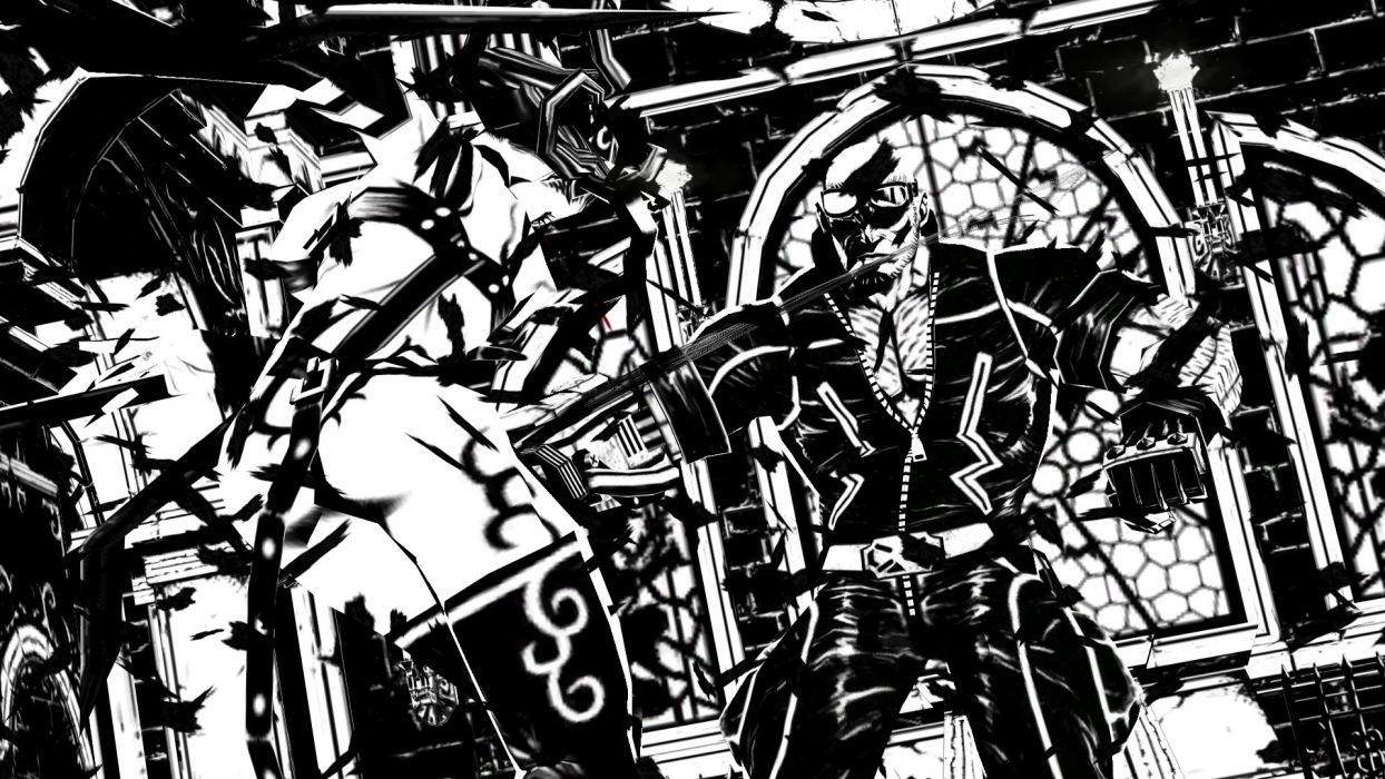 MADWORLD sega action sandbox dark warrior (5) wallpaper