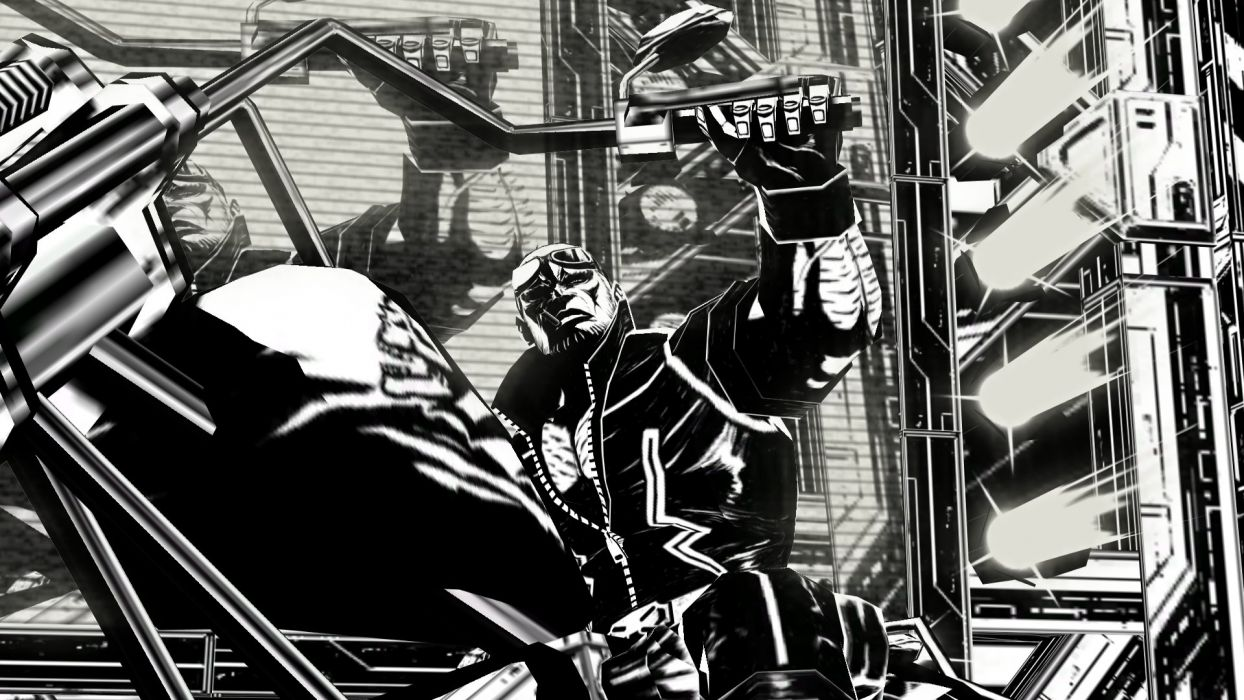 MADWORLD sega action sandbox dark warrior (9) wallpaper