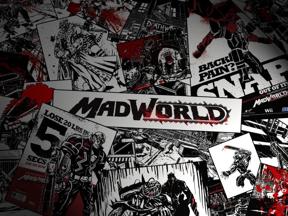 MADWORLD sega action sandbox dark warrior (11) wallpaper